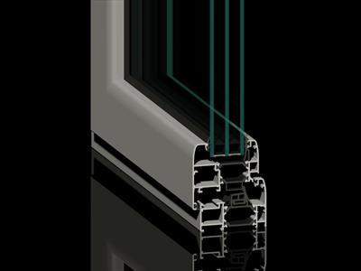 Profilo alluminio HP 700