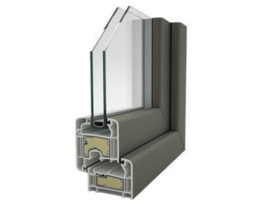 Profilo finestra zendow neo con rinforzi termici