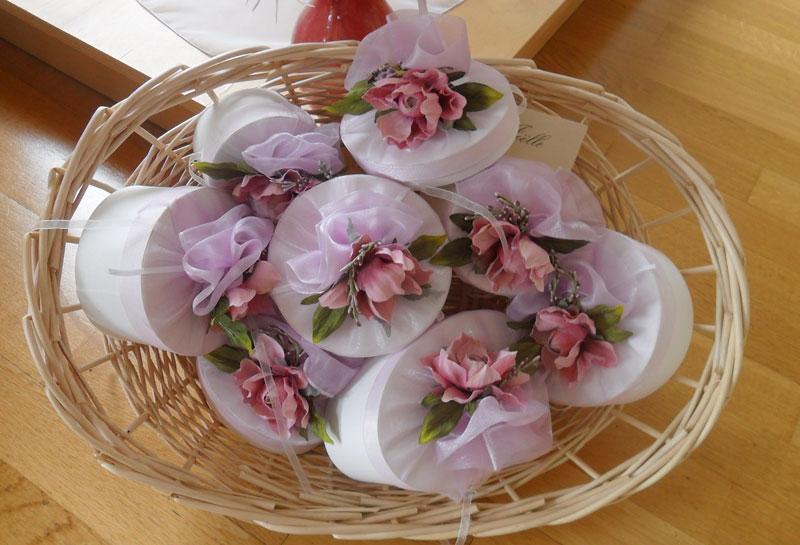 bomboniere artigianali per cerimonie macerata