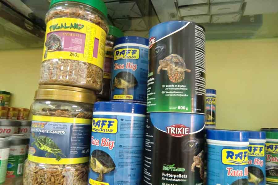 vendita prodotti per acquari terni