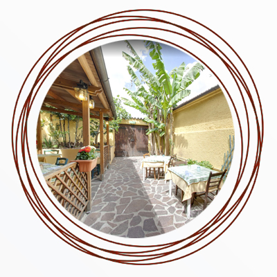 ristorante con tavoli all'aperto Città di Castello PG