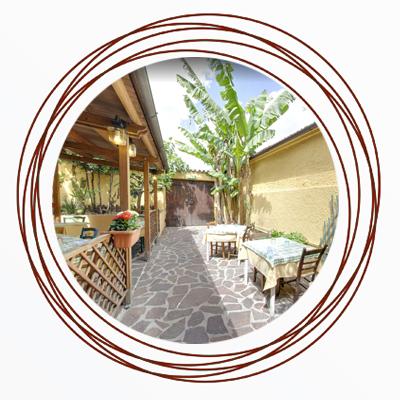 ristorante con veranda estiva Città di Castello PG