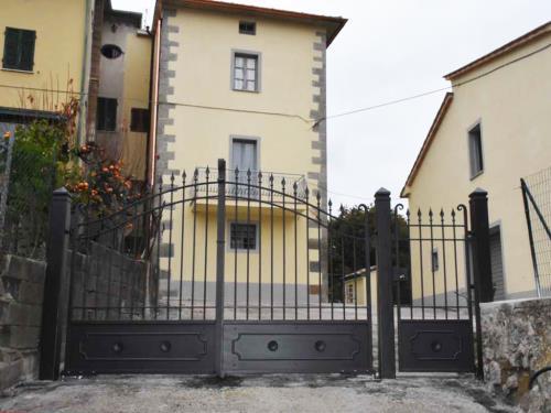 Cancello realizzato in ferro