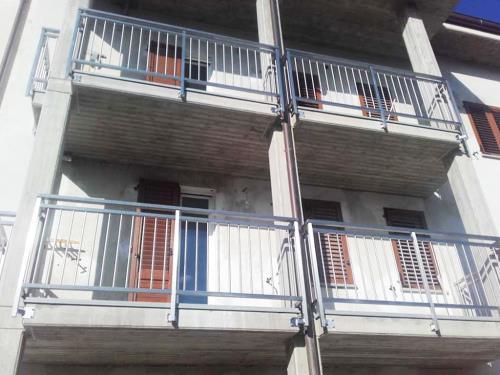 Ringhiere balconi esterni
