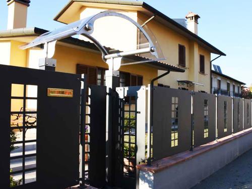 Cancello e pannelli