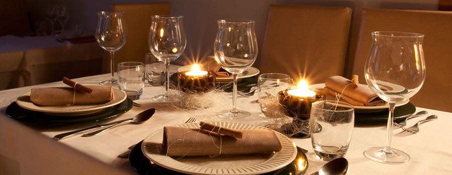 tavola per cerimonie