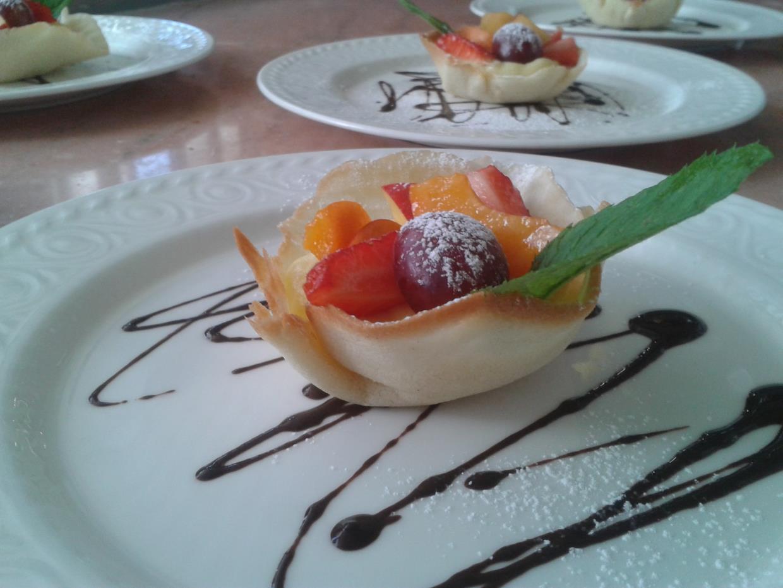 cialda di frutta