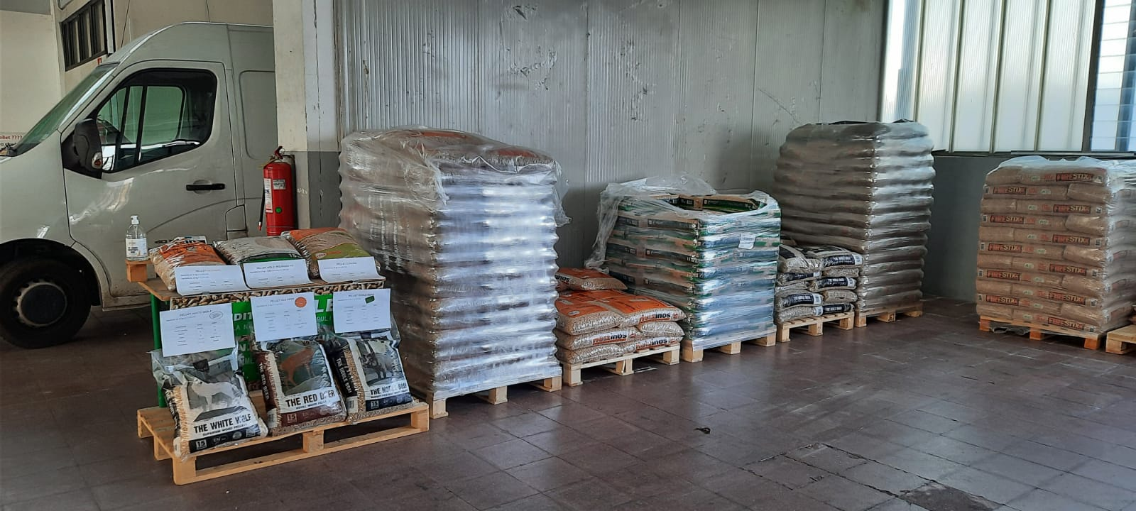 consegna pellet a domicilio novara