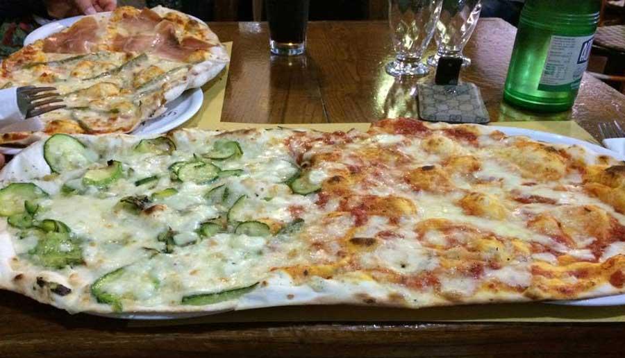 Pizza Sottile Viterbo