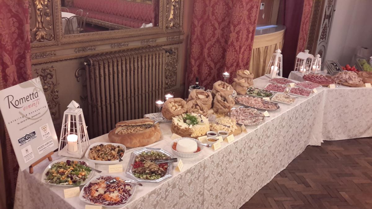 menu catering pistoia