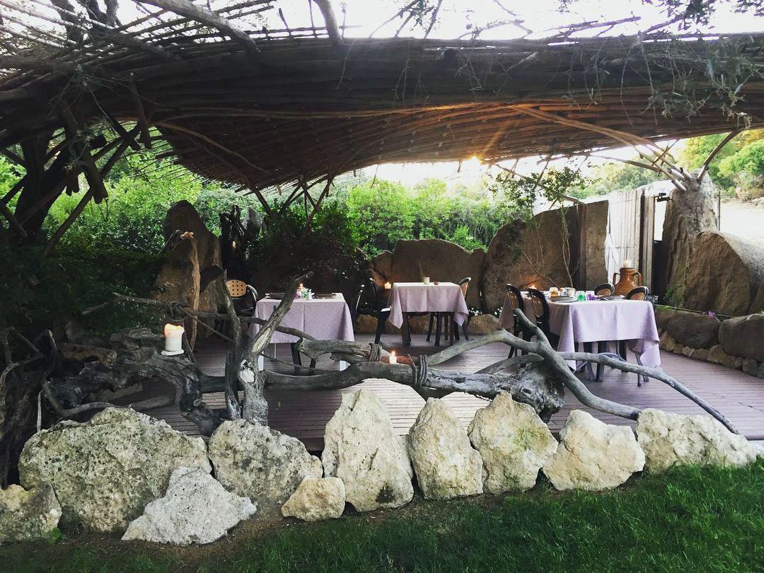ristorante nella natura gallura