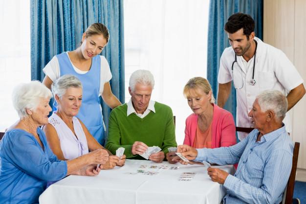residenza anziani con animazione carrara