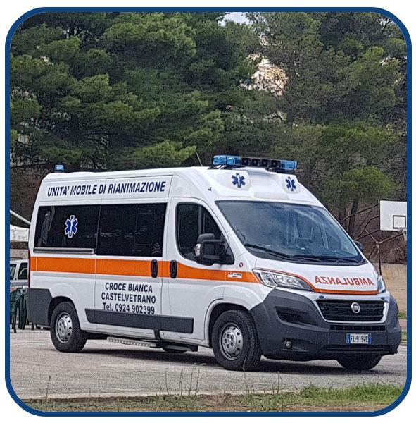 servizio ambulanza castelvetrano