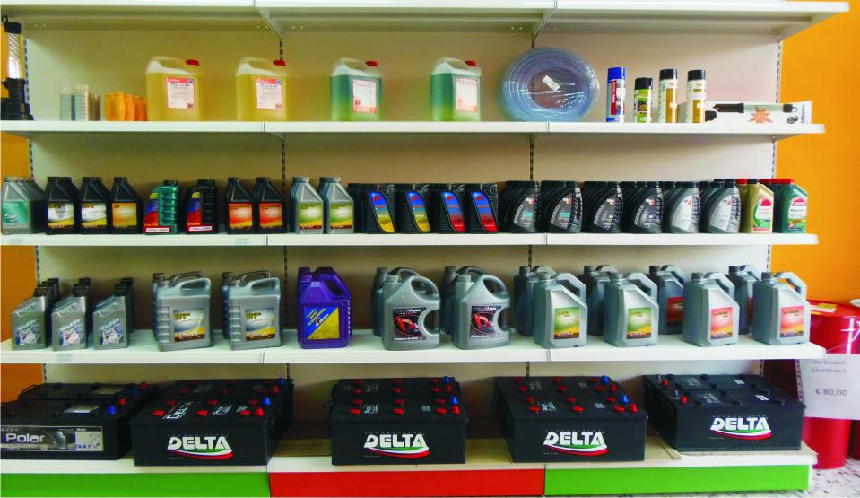 Olio e Batterie per veicoli