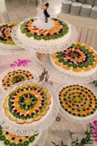 Torte nuziali della pasticceria Cannas