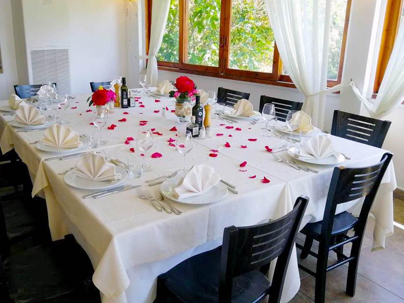 ristorante elegante cala di volpe arzachena