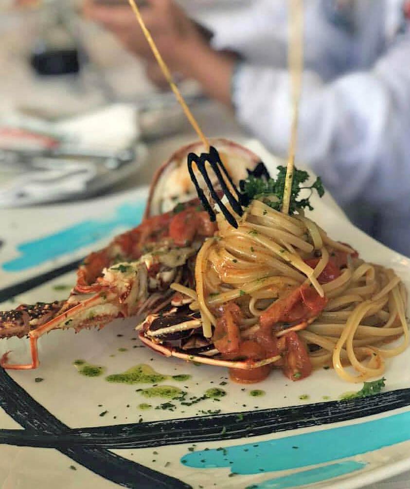 ristorante specialità pesce cala di volpe arzachena