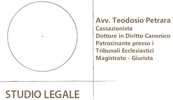 Avvocato Teodosio Petrara MI