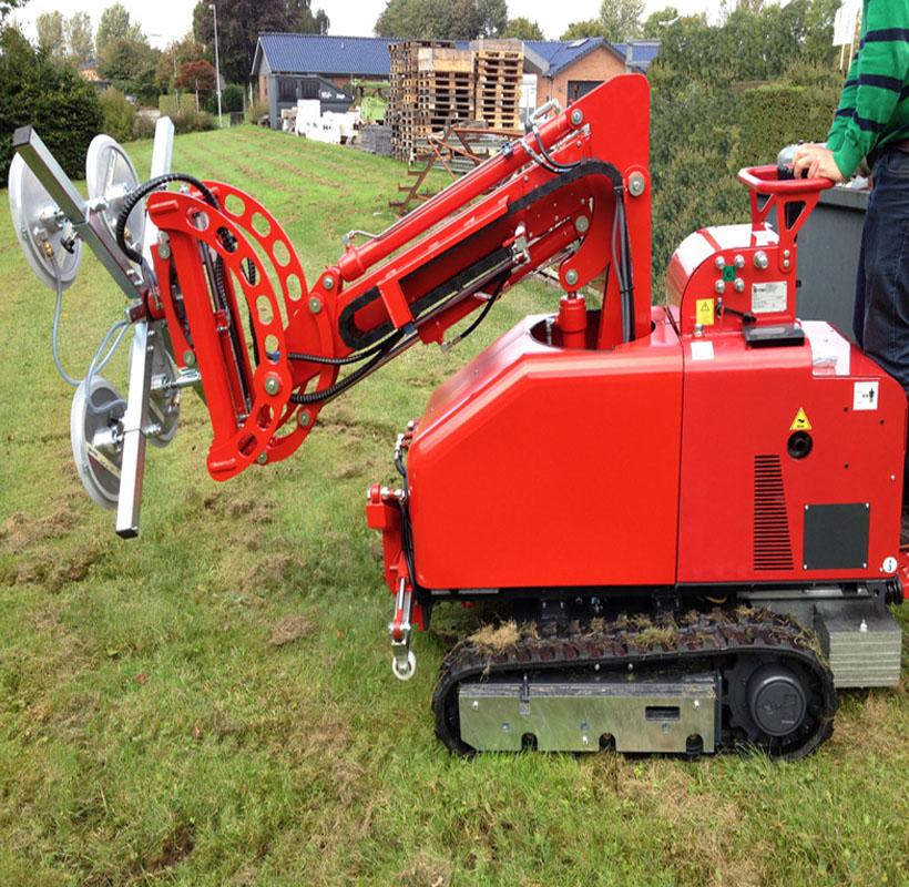 Macchine agricola taglia