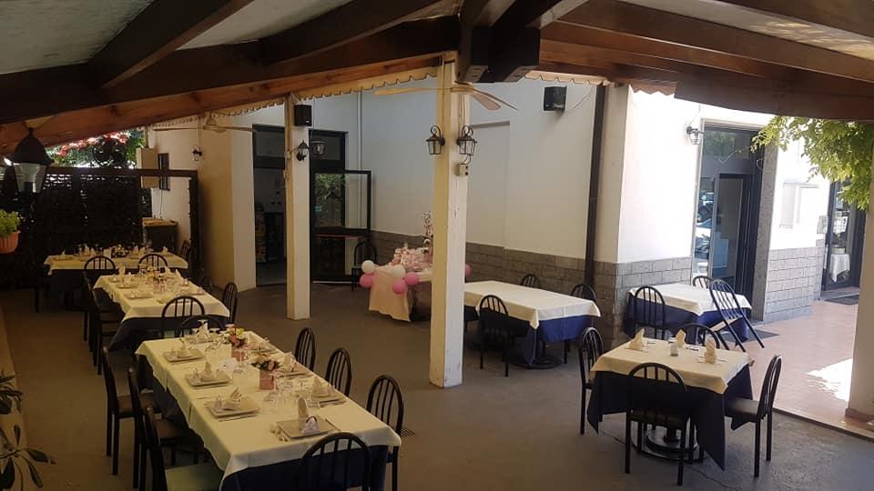 ristorante con veranda esterna terni