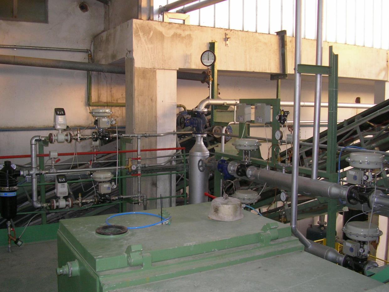 gruppo idraulico regolazione vapore
