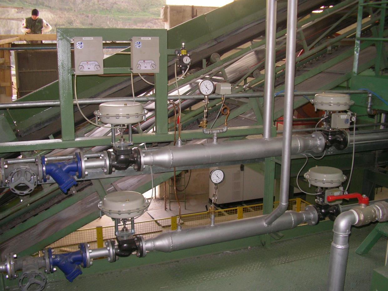Gruppo idraulico riduzione pressione vapore