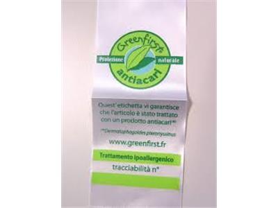 Materassi con certificazione di tracciabilità antiacaro