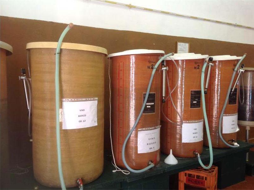 produzione vini rossi lago di garda bs