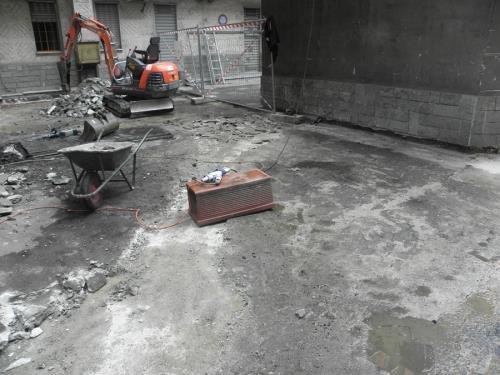 pavimentazioni cortili Torino