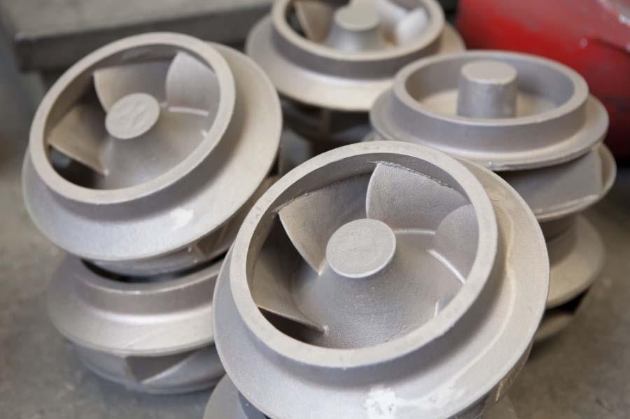 Getti singoli getti in serie industria meccanica Parma