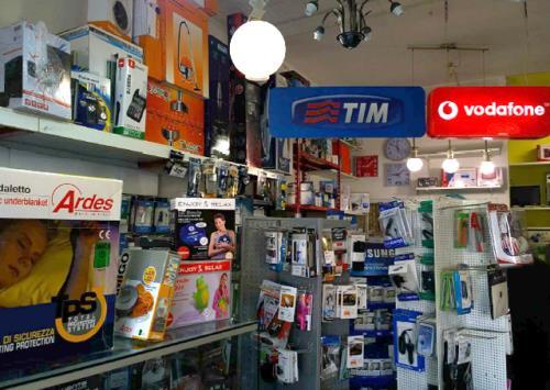 Centro Tim, Wind e Vodafone
