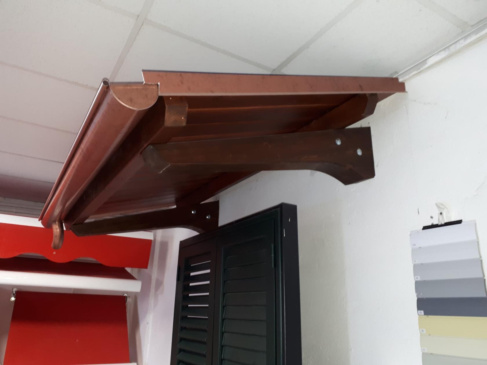 pensiline tettoia
