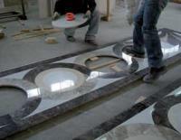 montaggio dei pavimenti