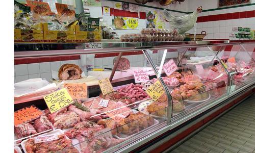 negozio di carne