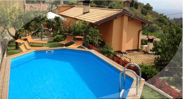 bed & breakfast con piscina Sanremo (Imperia)
