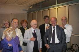 A cena con Ervin Lazslo Cannarozzo Maurizio Trieste