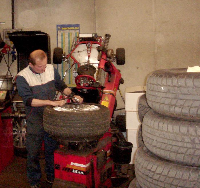 cambio pneumatici brescia