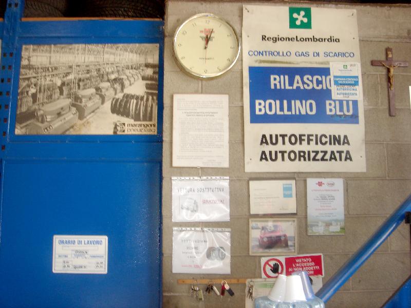 bollino blu autovetture bs