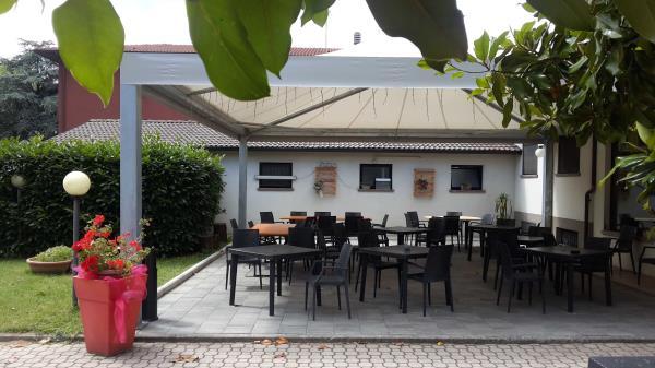 ristorante Fontanellato spazio esterno