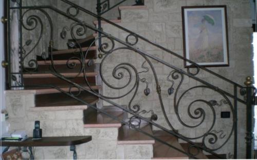 Scale in ferro Salsomaggiore Terme Parma