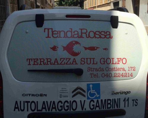 adesivi auto Trieste