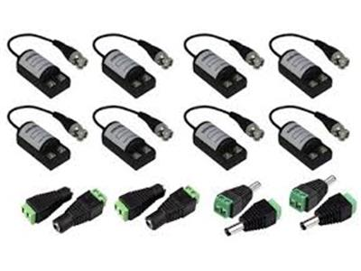 Connettori per videosorveglianza