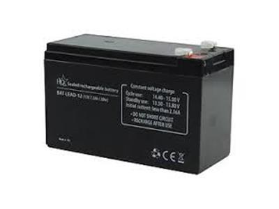 Batteria per impianto d'allarme