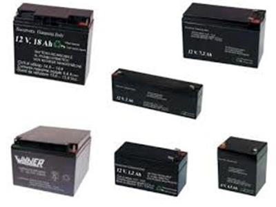 Batterie per impianti d'allarme