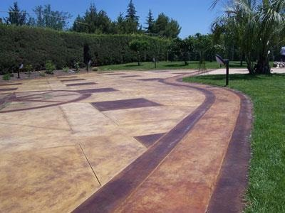 Pavimento acidificato a Canicattì Agrigento
