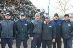 Recupero e riciclaggio di rottami di metallo
