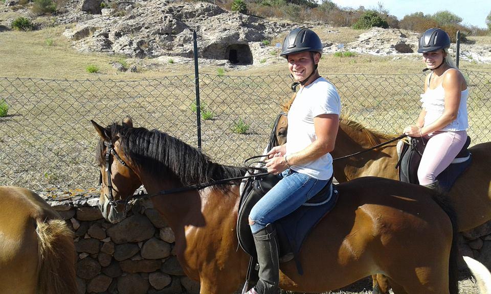 Escursione cavallo Sulcis
