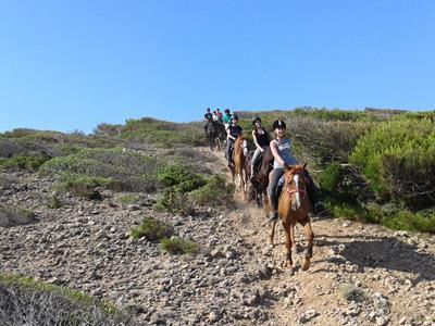 Escursioni a cavallo Cuaddu