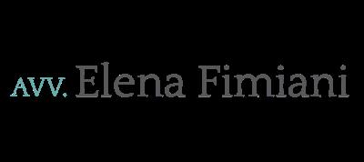 Logo studio avv. Elena Fimiani La Spezia