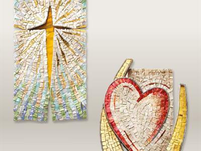 Elementi religiosi mosaico